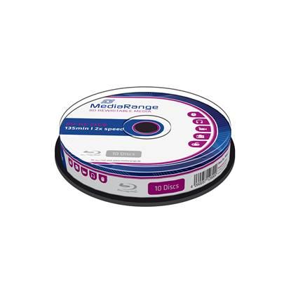 MediaRange BD-RE 25GB 2x Rewritable Cake Box x 10 (MR501)