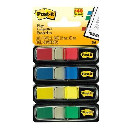 Σελιδοδείκτες 3M Post-It Βελάκια 4 Χρώματα Neon Φωσφοριζέ (MMM101041)