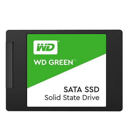 Western Digital Δίσκος SSD 2.5'' SATA III Green 480GB