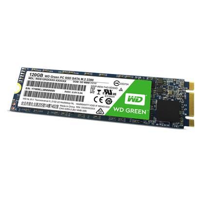 Western Digital Δίσκος SSD M.2 Green 120GB (WDS120G2G0A)