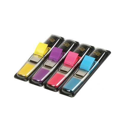 Σελιδοδείκτες 3M Post-It 1/2 Inch 4 Χρώματα (Κίτρινο, Ρόζ, Μώβ, Γαλάζιο) (MMM101040)