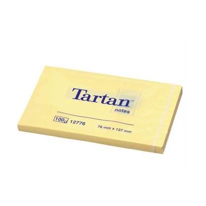Αυτοκόλλητα Χαρτάκια 3M Tartan Κίτρινα 76x127 mm. (MMM12776)