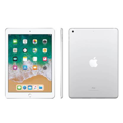 Apple iPad 9.7 (2018) Wi-Fi 128GB - Silver EU