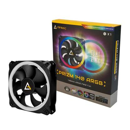 ANTEC Prizm 140 RGB LED Fan (ANTPRZM140)