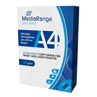 Επαγγελματικό Χαρτί Εκτύπωσης MediaRange A4 80g/m²  500 Φύλλα (MRINK110)