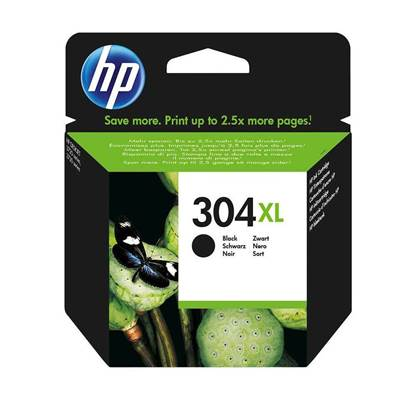 HP Μελάνι Inkjet No.304XL Black (N9K08AE)