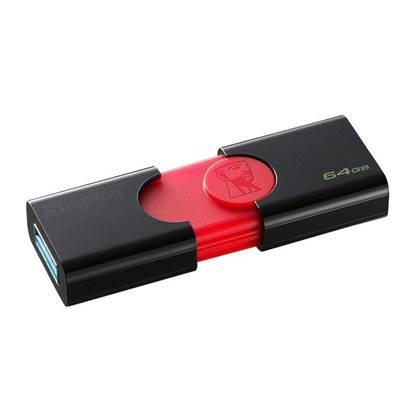 Kingston Data Traveler 106 64GB USB 3.0 Flash Drive (Black) (DT106/64GB) (KINDT106/64GB)