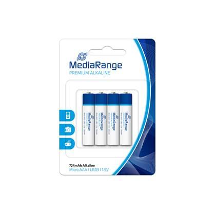 Αλκαλική Μπαταρία MediaRange Premium AAA 1.5V (LR3) (42 Pack) (MRBAT101-42)