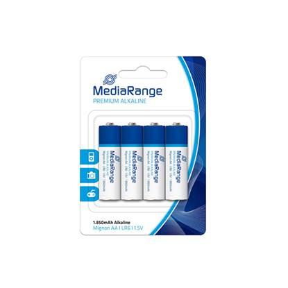 Αλκαλική Μπαταρία MediaRange Premium AA 1.5V (LR6) (42 Pack) (MRBAT104)
