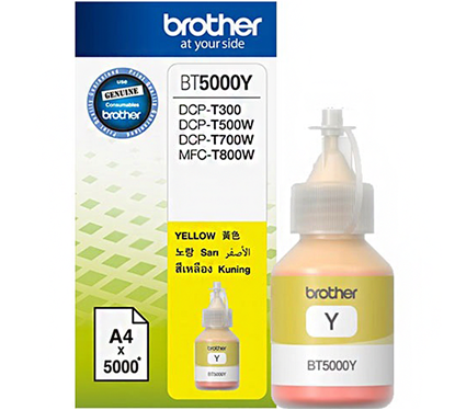 Brother Μελάνι Inkjet BT-5000Y Yellow (BT5000Y) (BRO-BT-5000Y)