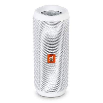JBL Flip4 Portable Bluetooth Speaker White