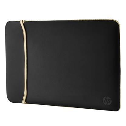 HP 14 Neoprene Reversible Sleeve (Black/Gold)
