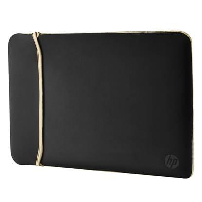 HP 14 Neoprene Reversible Sleeve (Black/Gold)