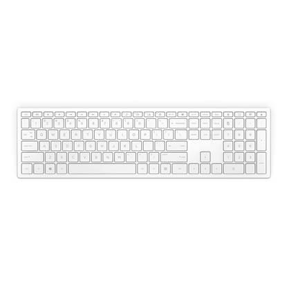 HP Pavilion Wireless Keyboard 600 Black GR Layout White