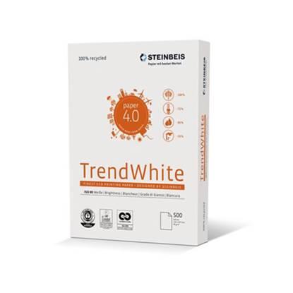 Επαγγελματικό Χαρτί Εκτύπωσης Ανακυκλωμένο Trend White A4 80g/m² 500 Φύλλα (STE591811)