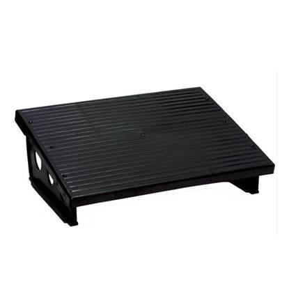 Υποπόδιο Γραφείου Σταθερό Πλαστικό GK (Μαύρο) (GK3601)