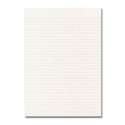 Μπλοκ Ριγέ Χωρίς Εξώφυλλο Α4 (100 Φύλλα) (TEL081301)