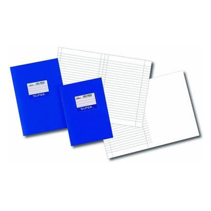 Τετράδιο Πλαστικό Ριγέ SKAG 17x25 cm. (50 Φύλλα) (SKA110044)
