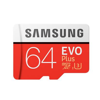 Samsung Micro Secure Digital Evo Plus U3 64GB Class 10 (MB-MC64GA/EU)