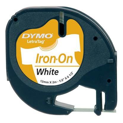 Ταινία Ετικετογράφου DYMO Iron-on 18769 (Μαύρα Γράμματα σε Λευκό Φόντο) (S0718850) (DYMO0718850)