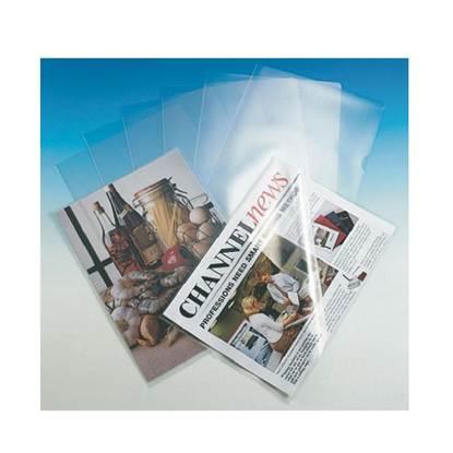 Ζελατίνες ESSELTE L Διάφανες PP A4 Άνοιγμα Πάνω & Δεξιά 0.12mm (ESS548300)