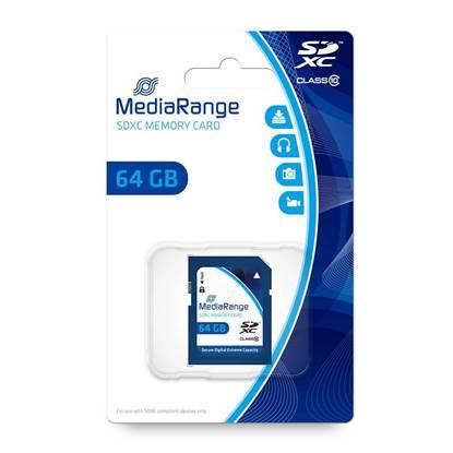 MediaRange SDXC Class 10 64 GB (eXtended Capacity)