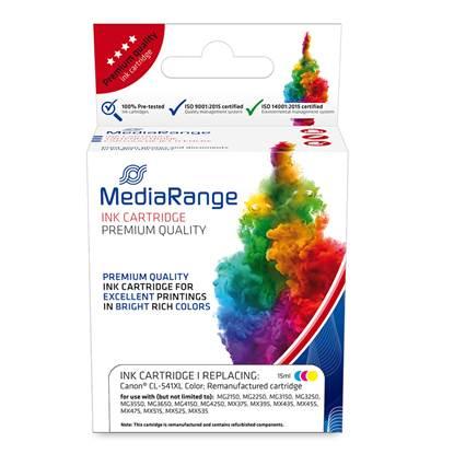 Inkjet MEDIARANGE Συμβατό για Εκτυπωτές Canon (Colour) (CL-541XL) (MRCC541CMYXL)