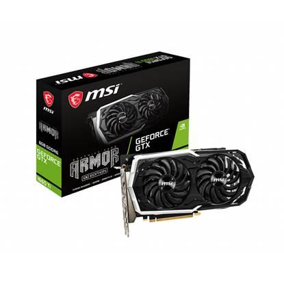 VGA MSI GeForce® GTX 1660 6GB Armor OC (MSIV379-007R) (V379-007R)