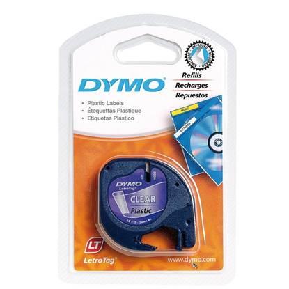 Πλαστική Ταινία Ετικετογράφου DYMO 12267 12x4 mm. (Διάφανη) (S0721530) (DYMO12267)