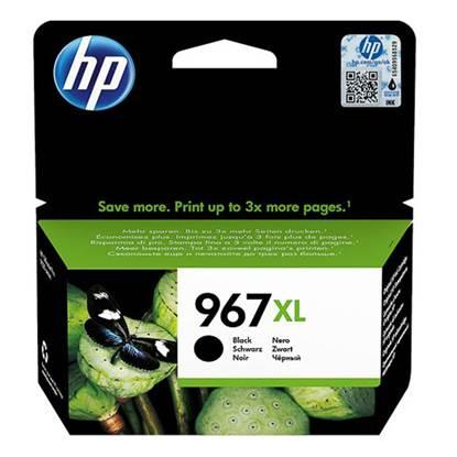 HP Μελάνι Inkjet No.967XL EHC Black (3JA31AE) (HP3JA31AE)