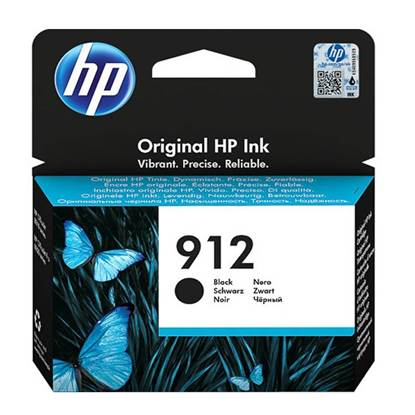 HP Μελάνι Inkjet No.912 Black (3YL80AE) (HP3YL80AE)