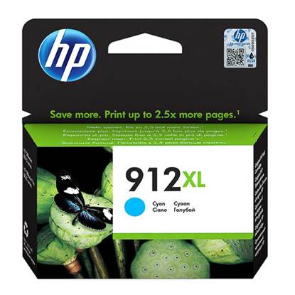 HP Μελάνι Inkjet No.912XL Cyan (3YL81AE) (HP3YL81AE)