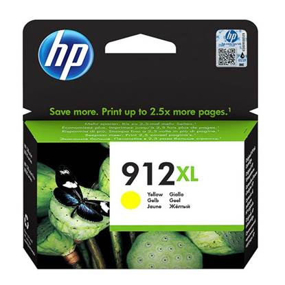HP Μελάνι Inkjet No.912XL Yellow (3YL83AE) (HP3YL83AE)