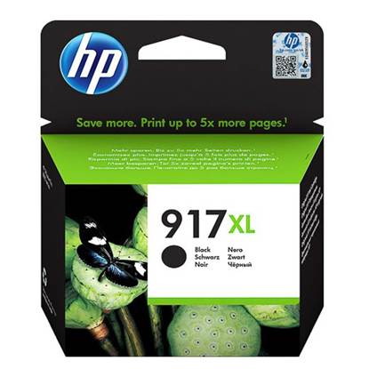 HP Μελάνι Inkjet No.917XL Black EHC (3YL85AE) (HP3YL85AE)