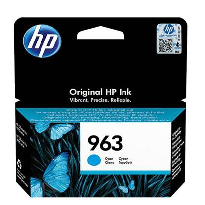 HP Μελάνι Inkjet No.963 Cyan (3JA23AE) (HP3JA23AE)