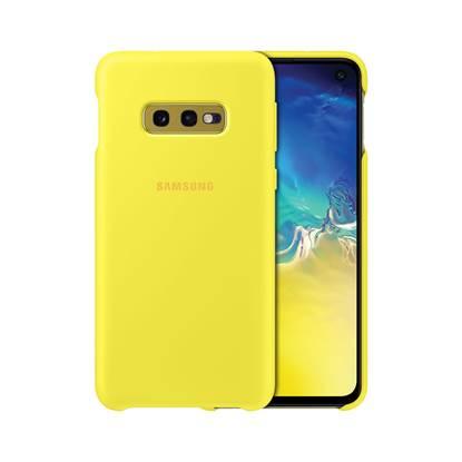 Samsung Galaxy S10e Silicone Cover Yellow (EF-PG970TYEGWW) (SAMPG970TYEG)