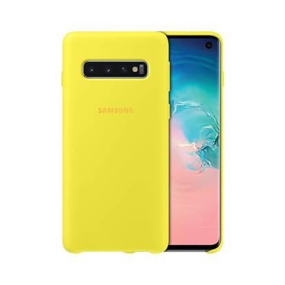 Samsung Galaxy S10 Silicone Cover Yellow (EF-PG973TYEGWW) (SAMPG973TYEG)