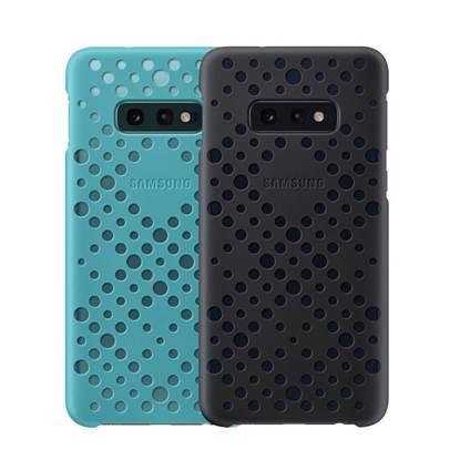 Samsung Pattern Cover Galaxy S10e Black&Green (EF-XG970CBEGWW) (SAMXG970CBEG)