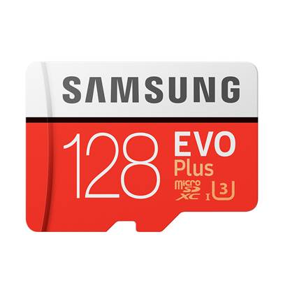 Samsung Micro Secure Digital Evo Plus U3 128GB Class 10 (MB-MC128GA/EU)