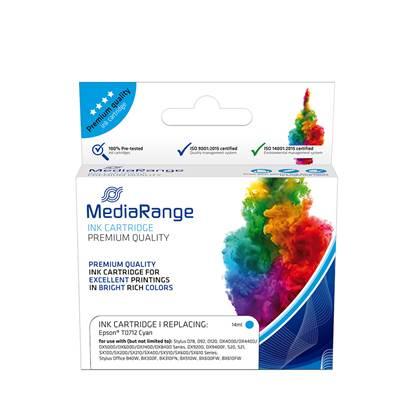 Inkjet MEDIARANGE Συμβατό για Εκτυπωτές Epson (Cyan) (T0712) (MRET071C)