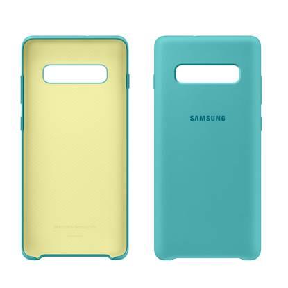 Samsung Galaxy S10+ Silicone Cover Green (EF-PG975TGEGWW) (SAMPG975TGEG)