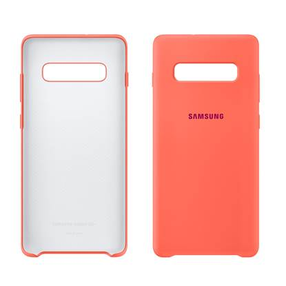 Samsung Galaxy S10+ Silicone Cover Berry Pink (EF-PG975THEGWW) (SAMPG975THEG)