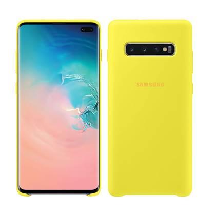 Samsung Galaxy S10+ Silicone Cover Yellow (EF-PG975TYEGWW) (SAMPG975TYEG)