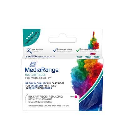 Inkjet MEDIARANGE Συμβατό για Εκτυπωτές HP (Magenta) (No.933XL) (CN055AE) (MRHP933MXL)