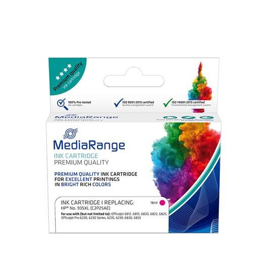 Inkjet MEDIARANGE Συμβατό για Εκτυπωτές HP (Magenta) (No.935XL) (C2P25AE) (MRHP935MXL)