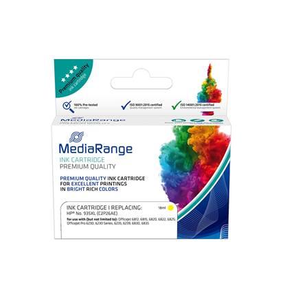 Inkjet MEDIARANGE Συμβατό για Εκτυπωτές HP (Yellow) (No.935XL) (C2P26AE) (MRHP935YXL)