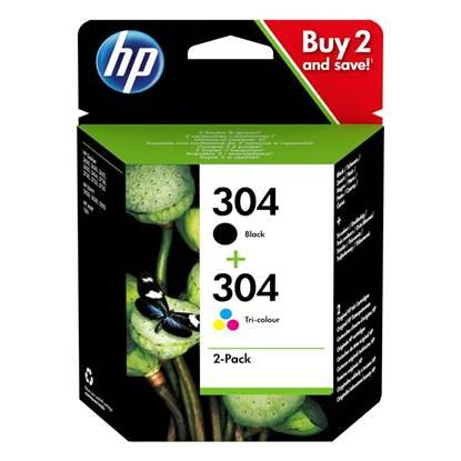 HP Μελάνι Inkjet No.304 2-Pack (3JB05AE) (HP3JB05AE)