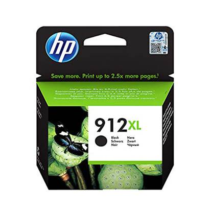 HP Μελάνι Inkjet No.912XL Black (3YL84AE) (HP3YL84AE)