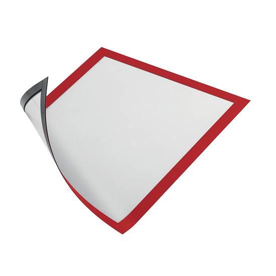 Θήκη Πληροφόρησης Μαγνητική A4 DURAFRAME DURABLE Σέτ 5 Τεμαχίων Κόκκινο (DRB4869R)