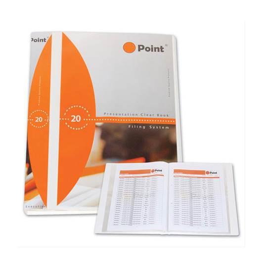 Ντοσιέ/Σούπλ με 20 Ζελατίνες Παρουσίασης POINT (POIPF10720)